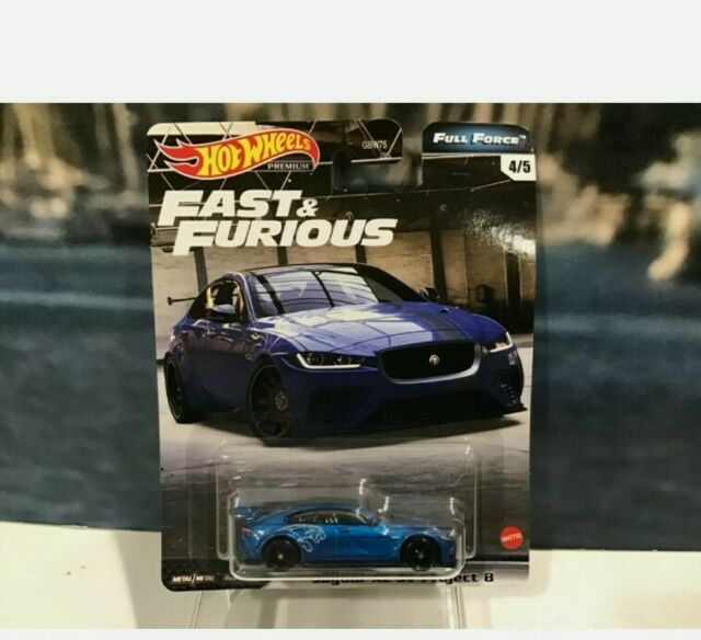 Hot Wheels Fast and Furious Jaguar XE SV Project 8 Full Force