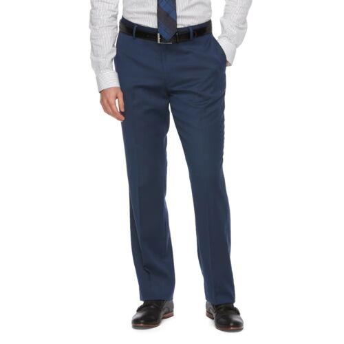 NWT Men/'s Apt 9 Slim Fit Premier Flex Stretch Dress Pants 4 Colors FAST SHIP