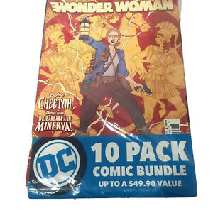 DC Universe Rebirth Comic Books Bundle 10 Pack Variety Wonder Woman