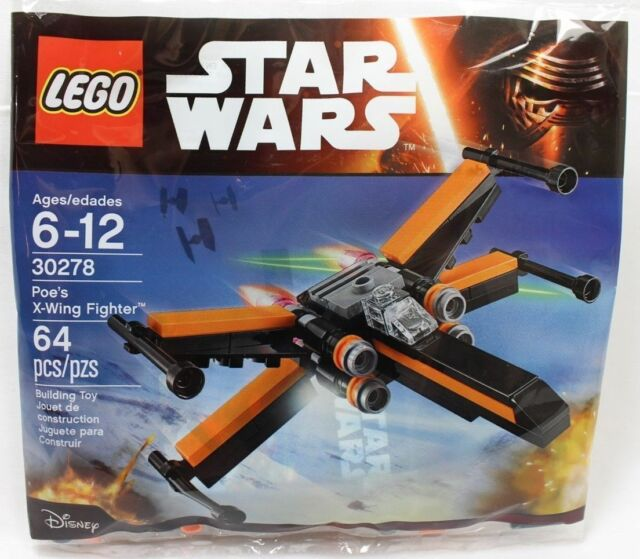 30278 Lego Star Wars Poe's X-Wing Fighter Brand New