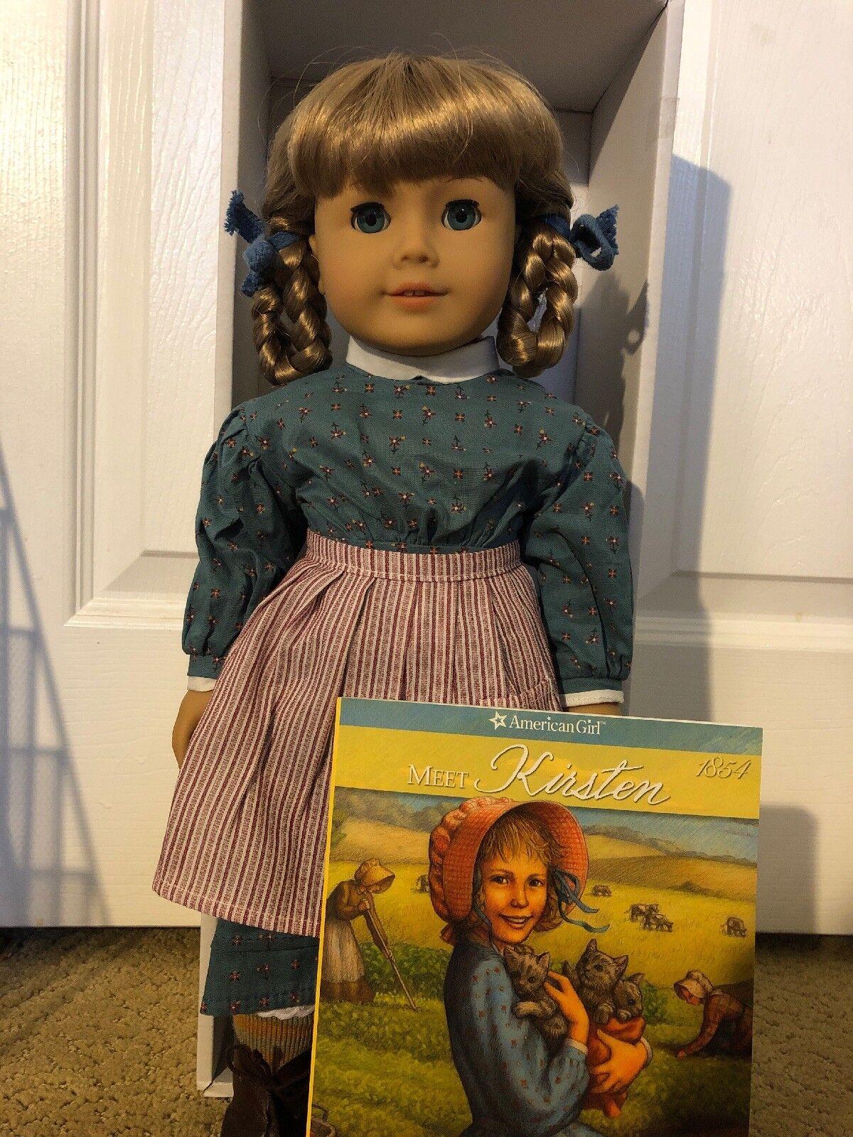 American Girl Doll Kirsten retirado