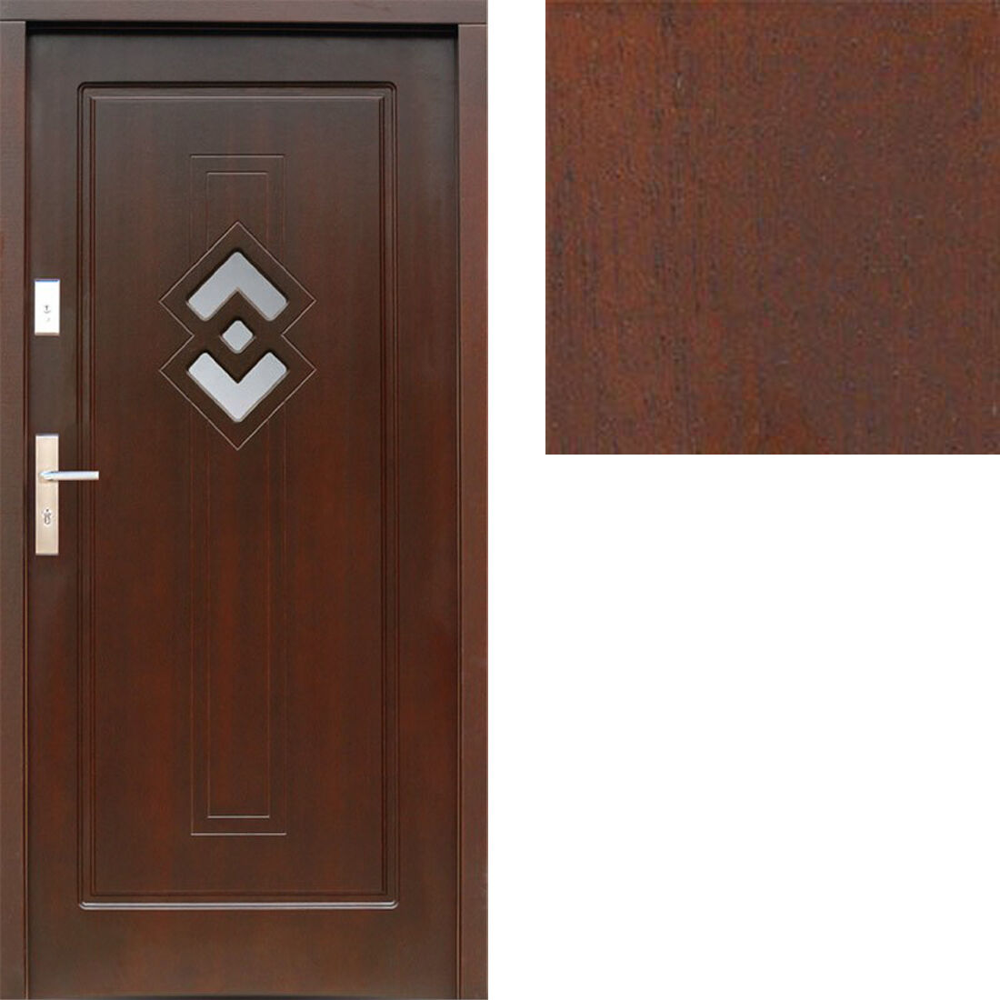 Holzaußentür hrejtie porte porte porte porte porte d'entrée türplatte holtztür 80-100 7 couleurs 0d5b97
