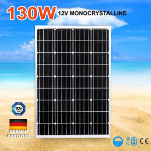 130W-12V-Solar-Panel-Mono-Kit-Generator-Caravan-Camping-Power-Charging-130watt