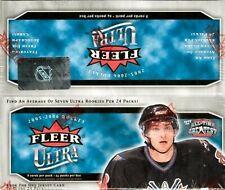 2005/06 Fleer Ultra Hockey 24 pack Retail Sealed Box