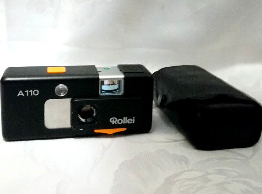 Rollei A 110 Tessar 1 2,8 f=23 mm  Made in Germany