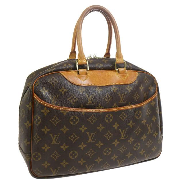 LOUIS VUITTON DEAUVILLE BUSINESS HAND BAG MONOGRAM CANVAS M47270 34420