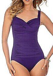 Miraclesuit-PURPLE-GRAPE-Trimshaper-Averi-Shirred-One-Piece-Swimsuit-US-18