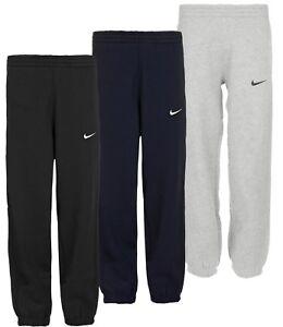 4cd6bc504c83 Nike Boys Fleece Joggers Tracksuit Bottoms Track Sweat Jogging Pants ...