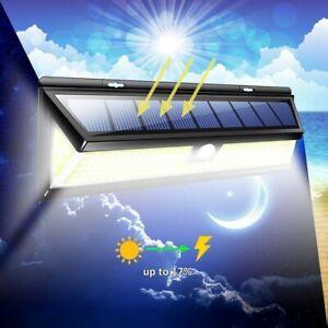 Candide 1000 Lm 180 Chip-on-board Solaire Del Mur Lumière Jardin Extérieur Sécurité Lampe Détecteur De Mouvement-afficher Le Titre D'origine