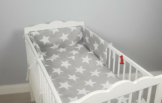 2 piece Quilt Duvet Pillow Set Baby Crib Cradle Pram Cot Bedding Filling Set