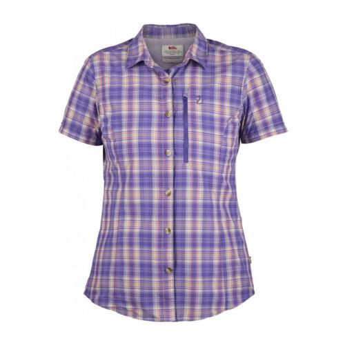 porté Fjallraven Shirt de vendeur Ss Womens pourpre non Échantillon Abisko saule Hike wZCFq