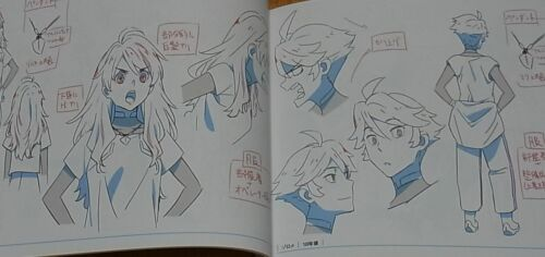 Darling in the Franxx Setting Art  Book Vol.03 144 page