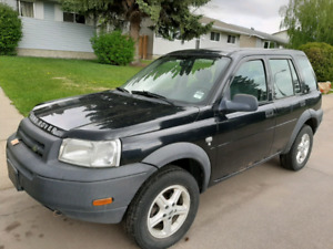 Great Condition 2002 Land Rover Freelander