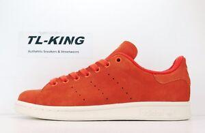 quality design 92a6b 35c54 Image is loading Adidas-Originals-Stan-Smith-Energy-Orange-Gold-Classic-
