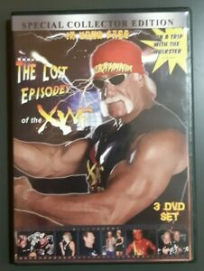 Details about The Lost Episodes of the XWF Collectors Edition Hulk Hogan DVD (3 Disc Set)