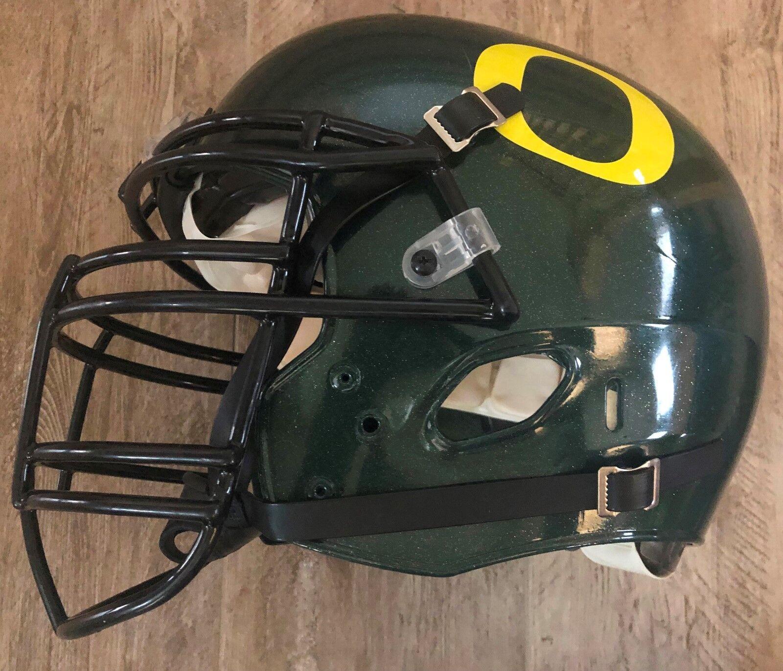 University of Oregon Team Issued Green Schutt DNA Football Helmet