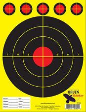 10/22 RIFLE SHOOTING TARGETS (1 Pad of 100 Targets / 8.5x11) Very Popular!