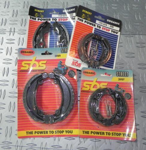 2057 SBS Brake Shoes for Honda 50 Dio 50 Tact CR50 GP50 HSC50 NU50 PK50 QR50....