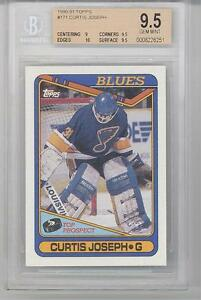 Details About 1990 Topps Curtis Joseph Rookie Card 171 Bgs95 Bgs