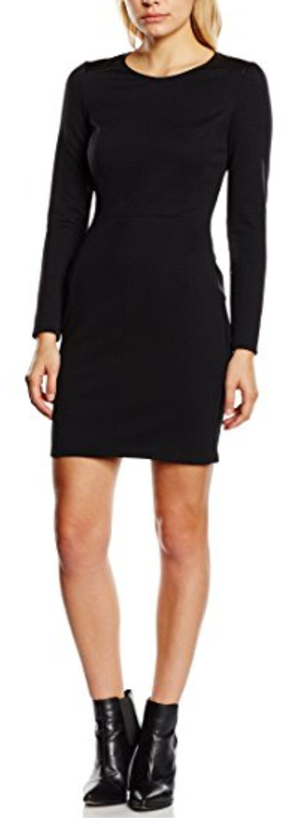 Boss Orange Aloka schwarz dress Größe 16UK