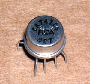 RCA  CA1458T  OP-AMP,DUAL,BIPOLAR,CAN,8PIN,METAL  NSN# 5962-01-097-3885 2 PC