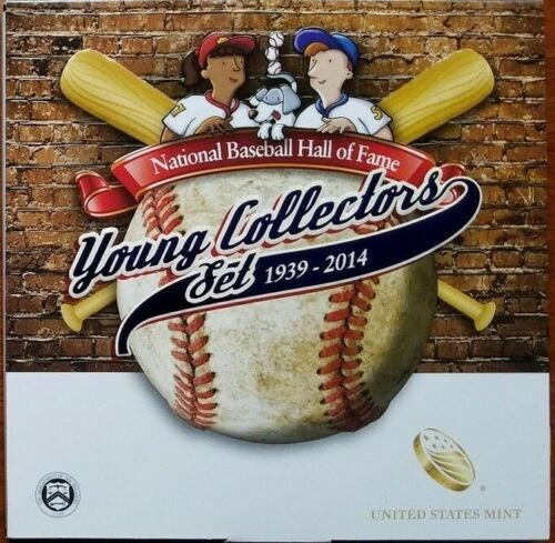2014-D Baseball Hall of Fame Young Collectors Commemorative Half Dollar