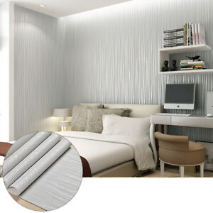 Details About Modern Wallpaper Non Woven Fabric Wallpaper Wall Covering Paper For Room Decor