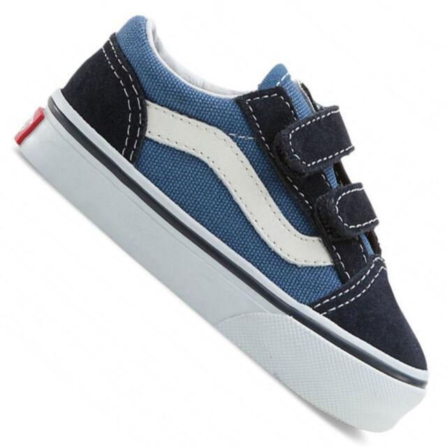 cc5f87b8b7 VANS Old Skool V Vn-0d3ynvy Authentic Navy Shoes Kids Toddler Blues ...