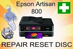 epson artisan 800 printer reset fault repair disc flashing light rh ebay co uk Service 800 Work From Home 800 Service Complaints