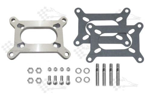 Carb Adapter Kit Large Holley 2 bbl To Rochester 2 bbl Manifold