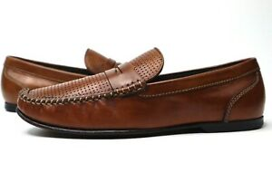 RARE 1966 Bostonian Penny Loafers Men's Leather Stitched ...