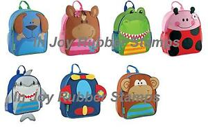 Kid-039-s-School-Supplies-Stephen-Joseph-SIDEKICK-BACKPACK-LUNCH-PALS-or-Mini