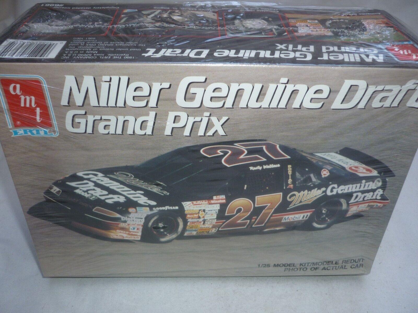 AMT   ERTL Un-opened plastic kit of Miller Genuine Draft Grand PRIX,