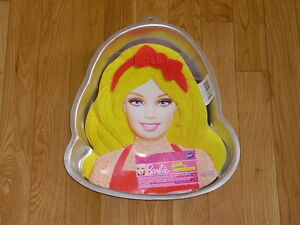 NEW WILTON BARBIE DOLL DRESS PRINCESS BIRTHDAY CAKE PAN MOLD INSERT