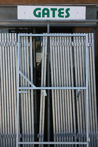Image Is Loading GALVANISED STEEL GATE FRAMES FOR DRIVEWAY GARDEN ETC