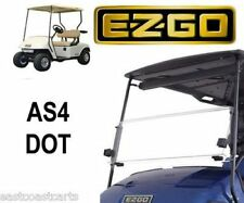 EZGO TXT 1995-2013 Fold Down Street Legal AS4 DOT Windshield
