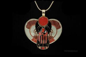 PENDENTIF-SCARABEE-AILE-CHAINE-PORTE-BONHEUR-EGYPTE-Bijoux-egyptien-8934