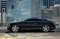 2012-16 Bentley Continental Gt Adjustable Lowering Kit Links Suspension Version1