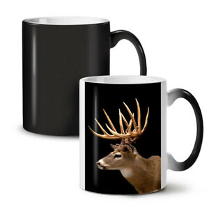 Deer Face Wild Animal NEW Colour Changing Tea Coffee Mug 11 oz   Wellcoda