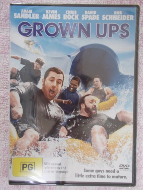 GROWN UPS  -  Dvd - Brand New & Sealed - Region 4