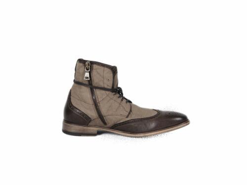 JOHN VARVATOS Men/'s Light Ghurka Fleetwood Spectator Boots Sz 10 $798 NEW