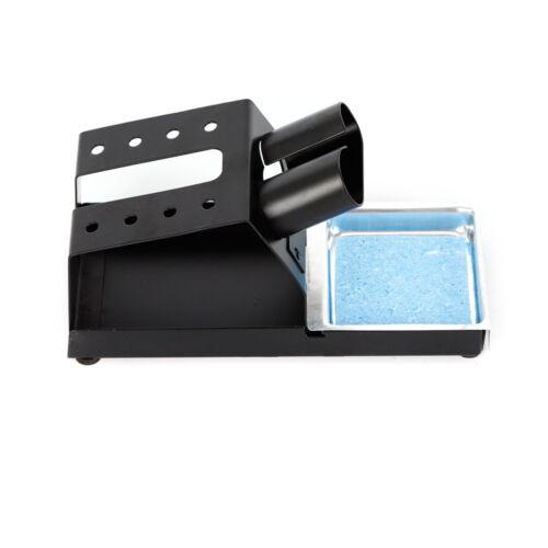 110V 938D Portable Hot Tweezers Mini Soldering Station LED Digital Display USA