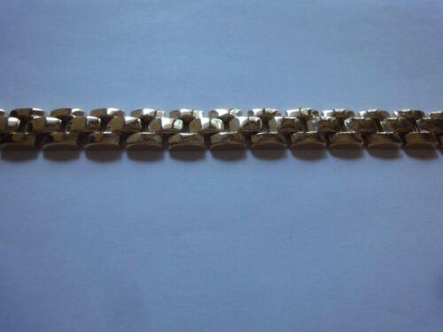 MEN'S FASHION GOLD POLISHED LINK BRACELET (MNB-4 )