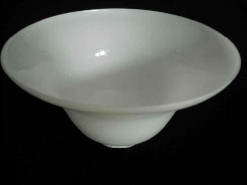die Halterung, Ø ca.19,3 cm K0463 Lampenschirm Glas Ersatz E27 Weiß