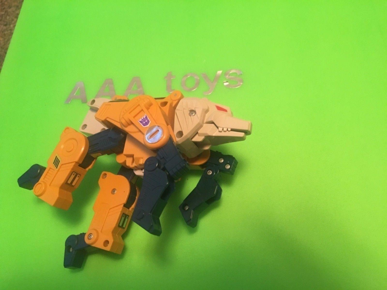 Vintage Transformers HEADMASTER WEIRD WOLFG1 1988 Hasbro Figure MNT