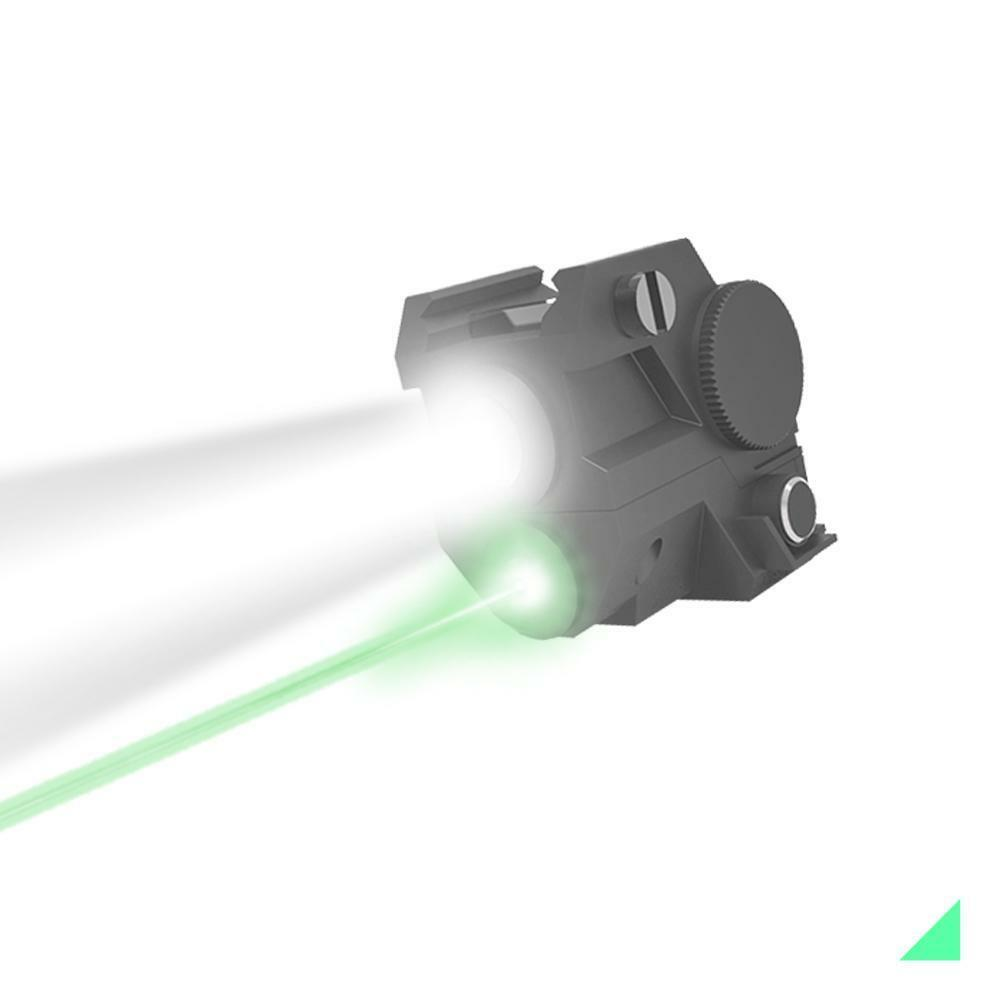 Tactical Green Laser & LED Torch for picatinny & weaver rails. Pistol, rifle