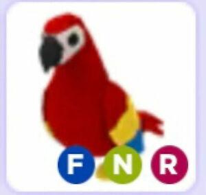 Read Desc Neon Parrot Pet Fnr Adopt Me Roblox Flyable Neon Ridable Ebay