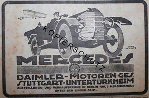 Daimler-Motoren-Ges-Stuttgart-Mercedes-Werbeanzeige-anno-1918-Reklame-Werbung