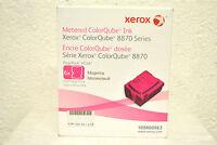 Encre Solide Xerox Metered Ink Colorqube 8870 8880 Magenta 6 Sticks 108r00963