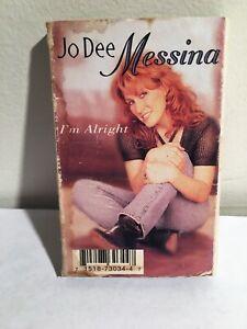 RARE I'm Alright / Bye Bye [Single] by Jo Dee Messina 1998 ...